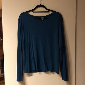 Eileen Fisher Long Sleeve Silk Blouse